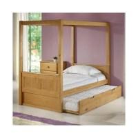 Camaflexi Camaflexi Full Canopy Bed with Trundle - Walmart.com