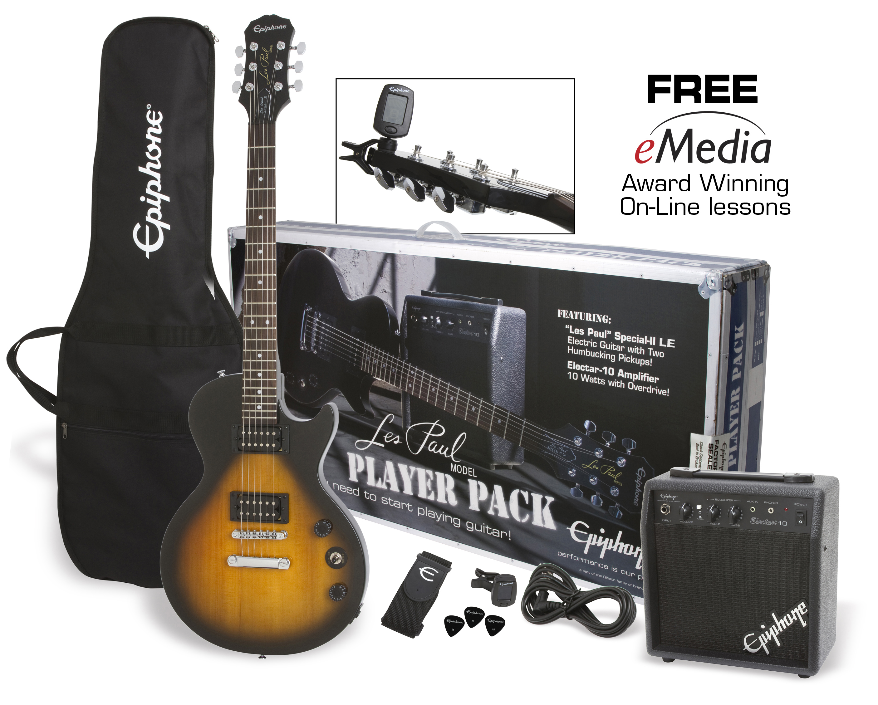 small resolution of epiphone les paul special ii electric guitar player pack walmart com specialty guitars les paul wiring diagram 2016 car release date