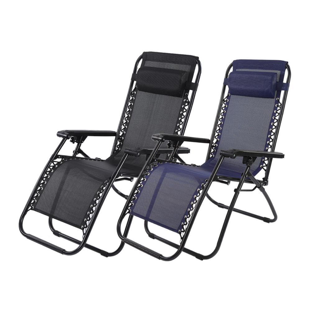 portable reclining chair baby recliner canada folding hilitand outdoor camping lounge beach garden with armrest black blue walmart