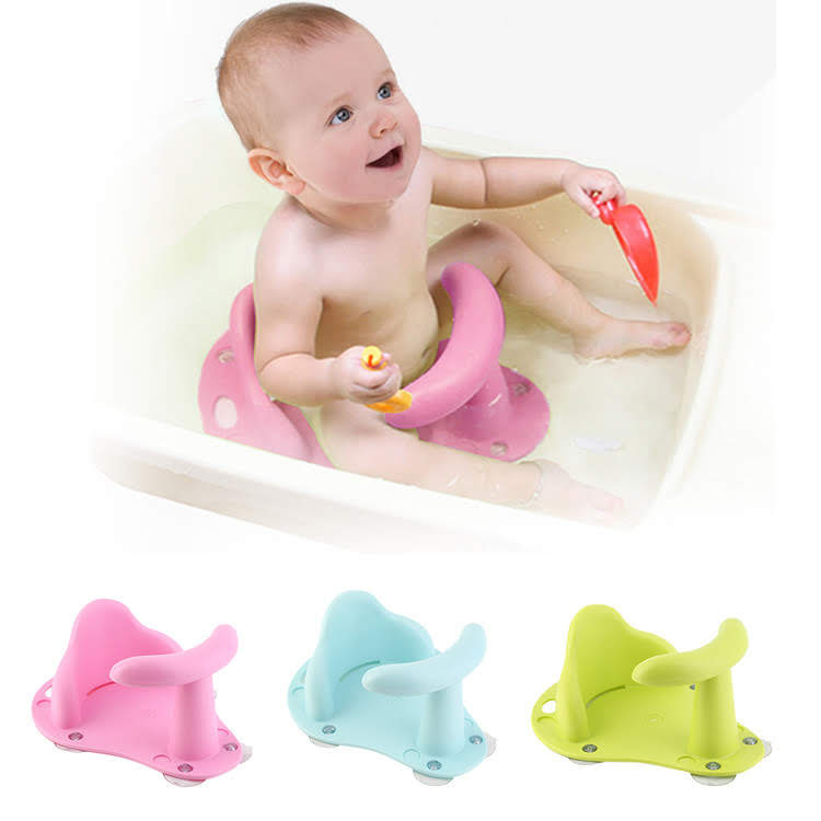 bath chair baby rubber rail seat safety 1st toddler kids bathing support infant tub walmart com
