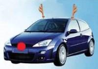 Christmas Car Decorations Reindeer | Billingsblessingbags.org