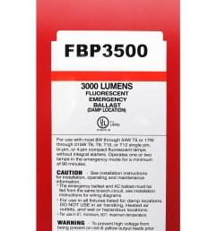 sure lites fbp3500 fluorescent emergency battery pack 1 2 lampssure lites fbp3500 fluorescent emergency battery [ 2000 x 2000 Pixel ]