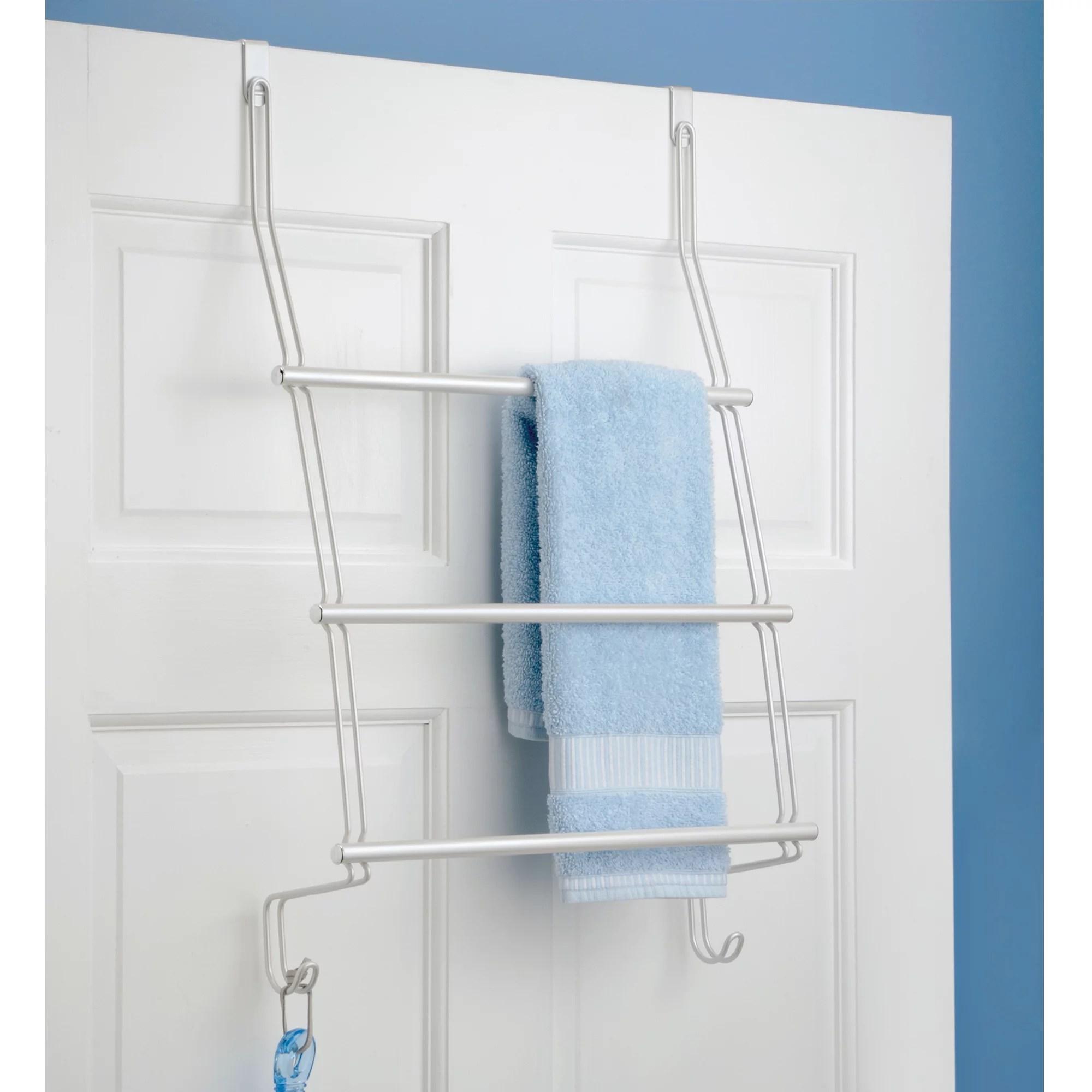 interdesign classico over the door towel rack walmart com walmart com