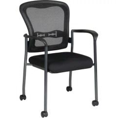 Office Star Chairs Chiavari Chair Rental Cost Pro Line Ii Progrid Guest Reception Waiting Room With Wheels Titanium Walmart Com