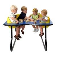 4 Seat Space Saver Toddler Activity Table - Walmart.com