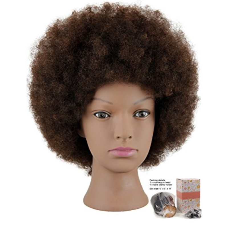 mannequin head african american