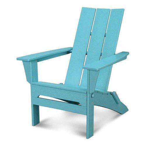 POLYWOOD Modern Folding Adirondack Chair  Walmartcom