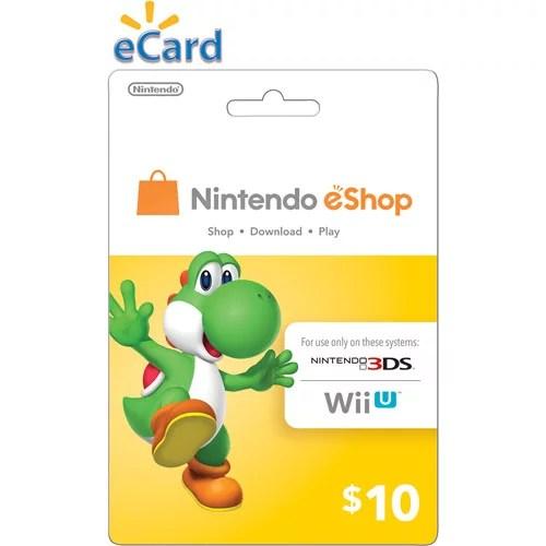 Nintendo Eshop 10 Email Delivery Walmart Com