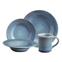Gibson Elite Mariani Stoneware Kitchen Dinnerware Set (16 ...