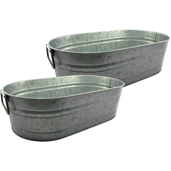 Better Homes and Gardens Galvanized Tub