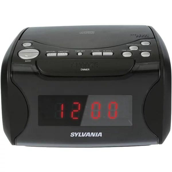 Sylvania Scr4986 Usb Charging Cd Dual
