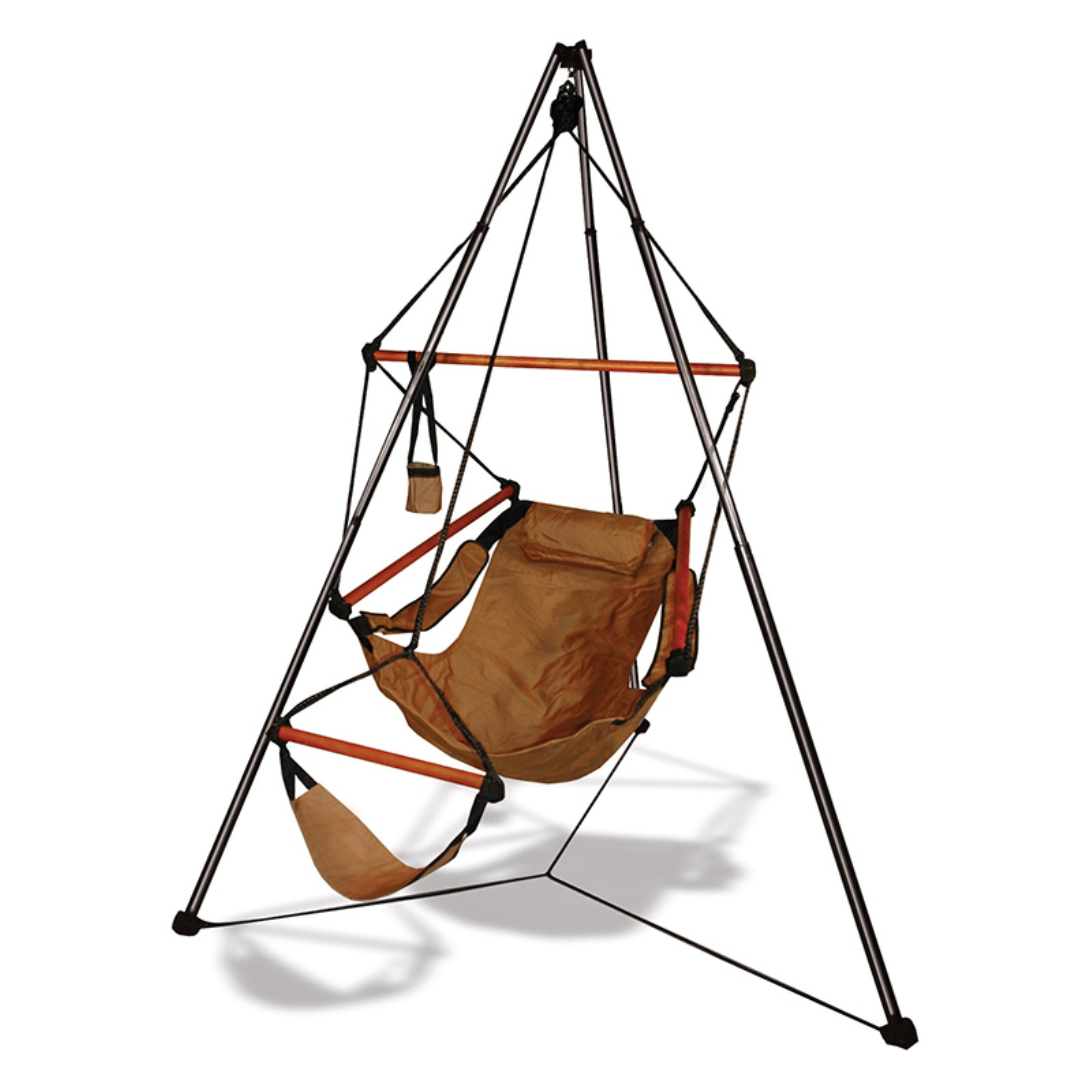 air chair stand small barrel chairs hammaka tripod with hanging combo