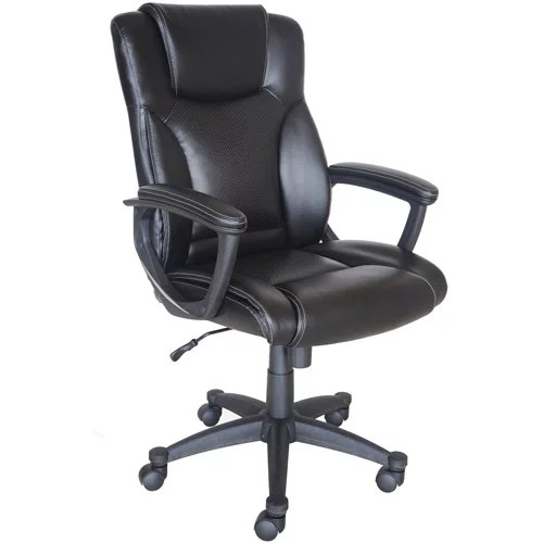 Broyhill Bonded Leather Manager Chair  Walmartcom