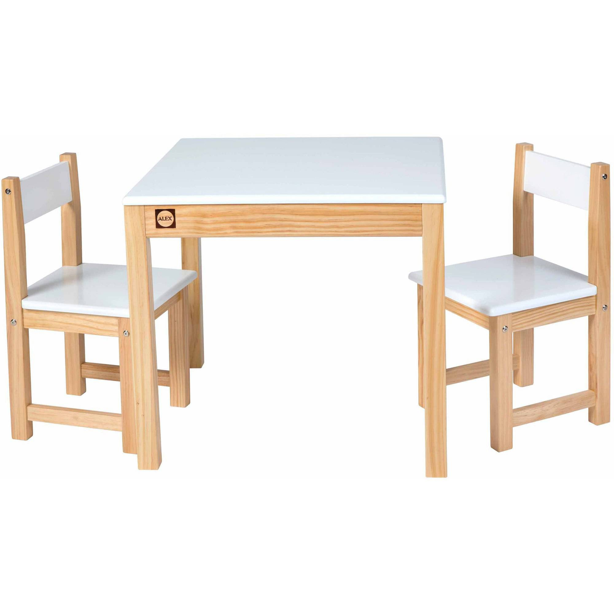 walmart table and chair set childrens chairs alex toys artist studio wooden