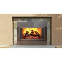 Majestic Fireplace 44'' Radiant Wood Burning Fireplace ...