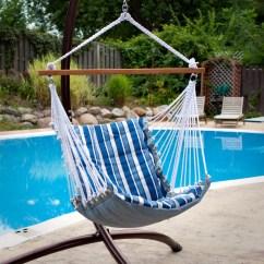 Hanging Hammock Chair High For Baby Boy Tropical Palm Stripe Soft Comfort Walmart Com
