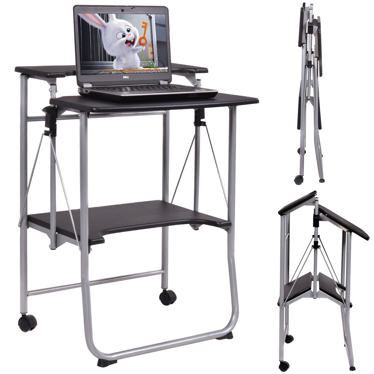 portable study chair kmart high chairs foldable desk hostgarcia
