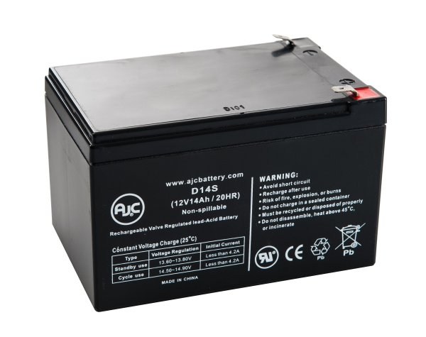 Black & Decker Storm Station Ss925 12v 14ah Lawn And Garden Battery - Ajc Brand