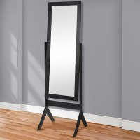 Best Choice Products Cheval Floor Mirror Bedroom Home ...