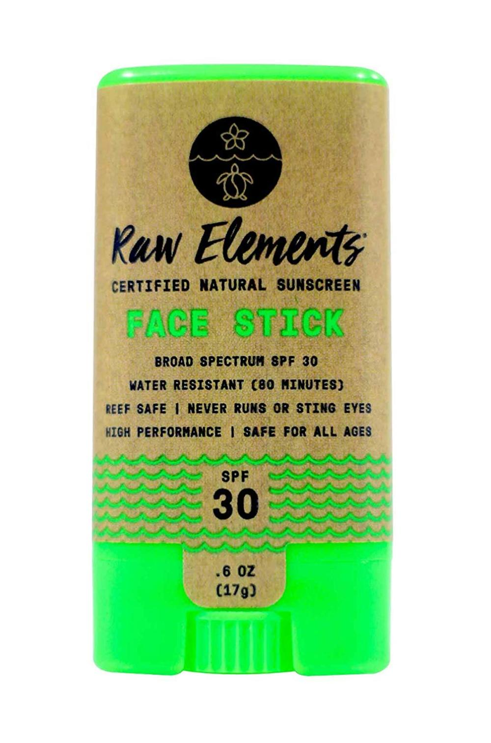 Face Stick Certified Natural Sunscreen   Non Nano Zinc ...