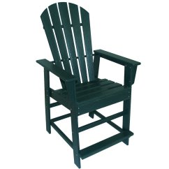 Plastic Adirondack Chairs Walmart Modern White Leather Desk Chair Polywood South Beach Recycled 24 In Counter