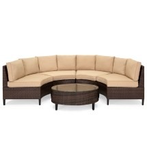 Choice Products 5-piece Modern Outdoor Patio Semi
