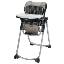 Graco Slim Spaces High Chair Logo Inc Amari Walmart Com