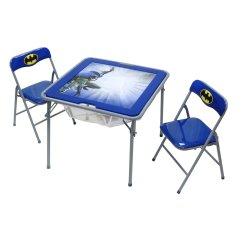 Batman Childrens Table And Chairs Kmart Okids Metal Flip Top Chair Set Walmart Com