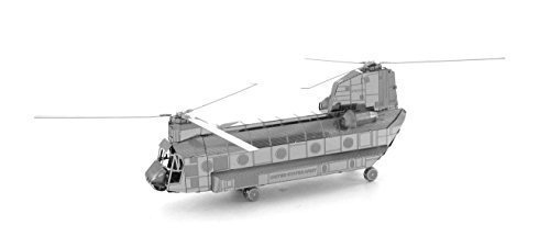 small resolution of fascinations metal earth boeing ch 47 chinook helicopter 3d metal model kit walmart canada