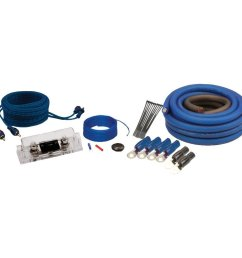 soundquest sqk0 cca copper clad 1 0 gauge amp wiring kit [ 1000 x 1000 Pixel ]