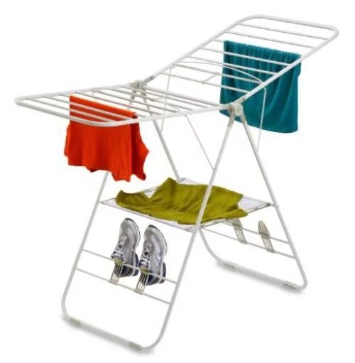 honey can do dry 01610 heavy duty gullwing drying rack white