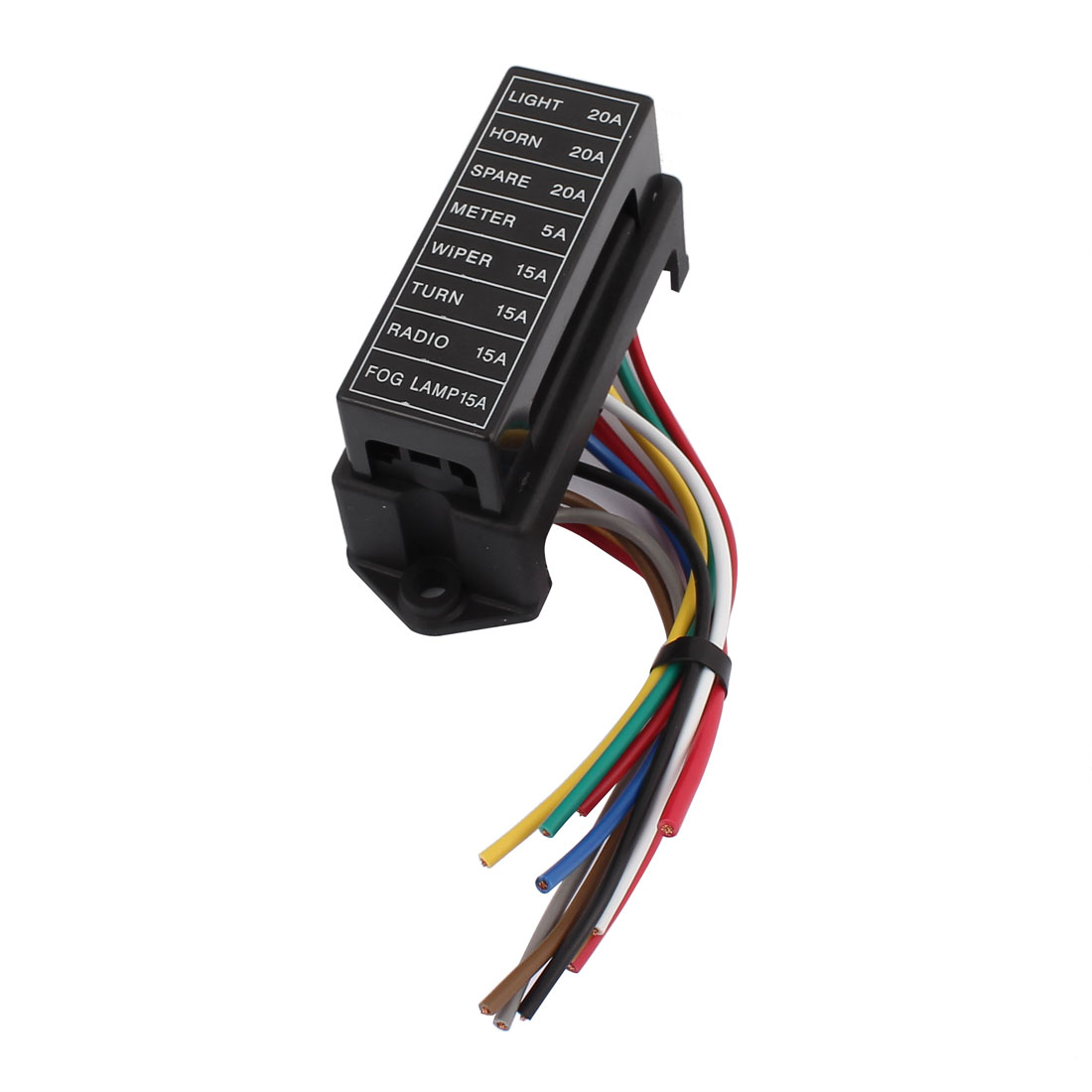 hight resolution of hs 008 jiazhan car 8 way fuse box 8 road with wire modification basic block auto