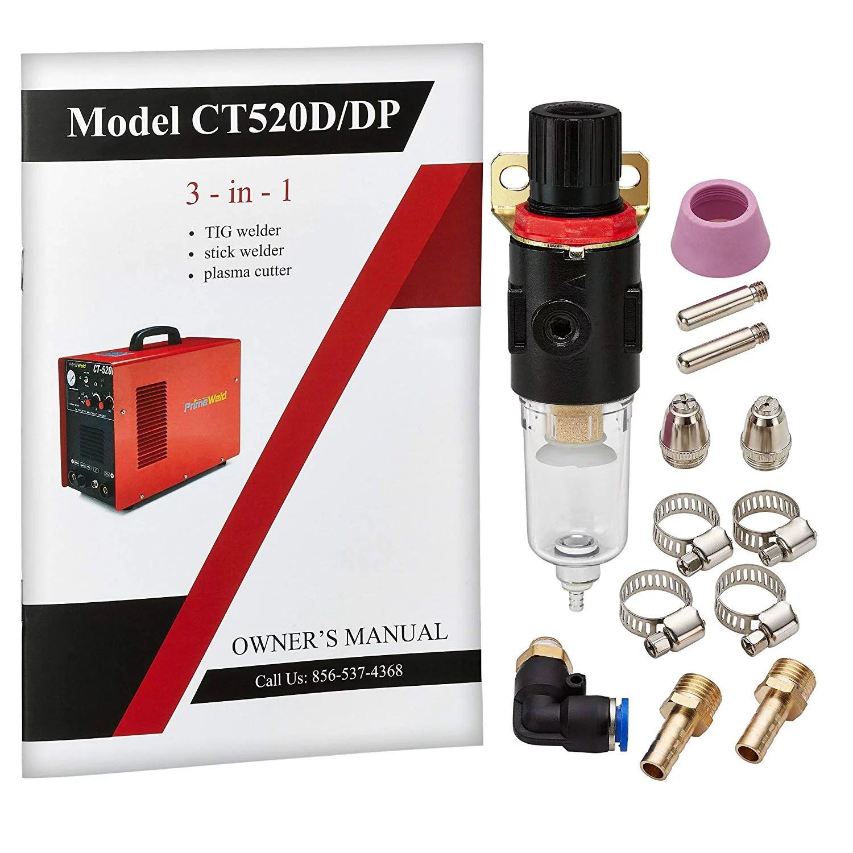 hight resolution of primeweld ct520d 50 amps plasma cutter 200 amps tig welder and 200 amps stick welder combo walmart com