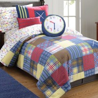 Frank & Lulu Preppy Plaid Down Comforter Set