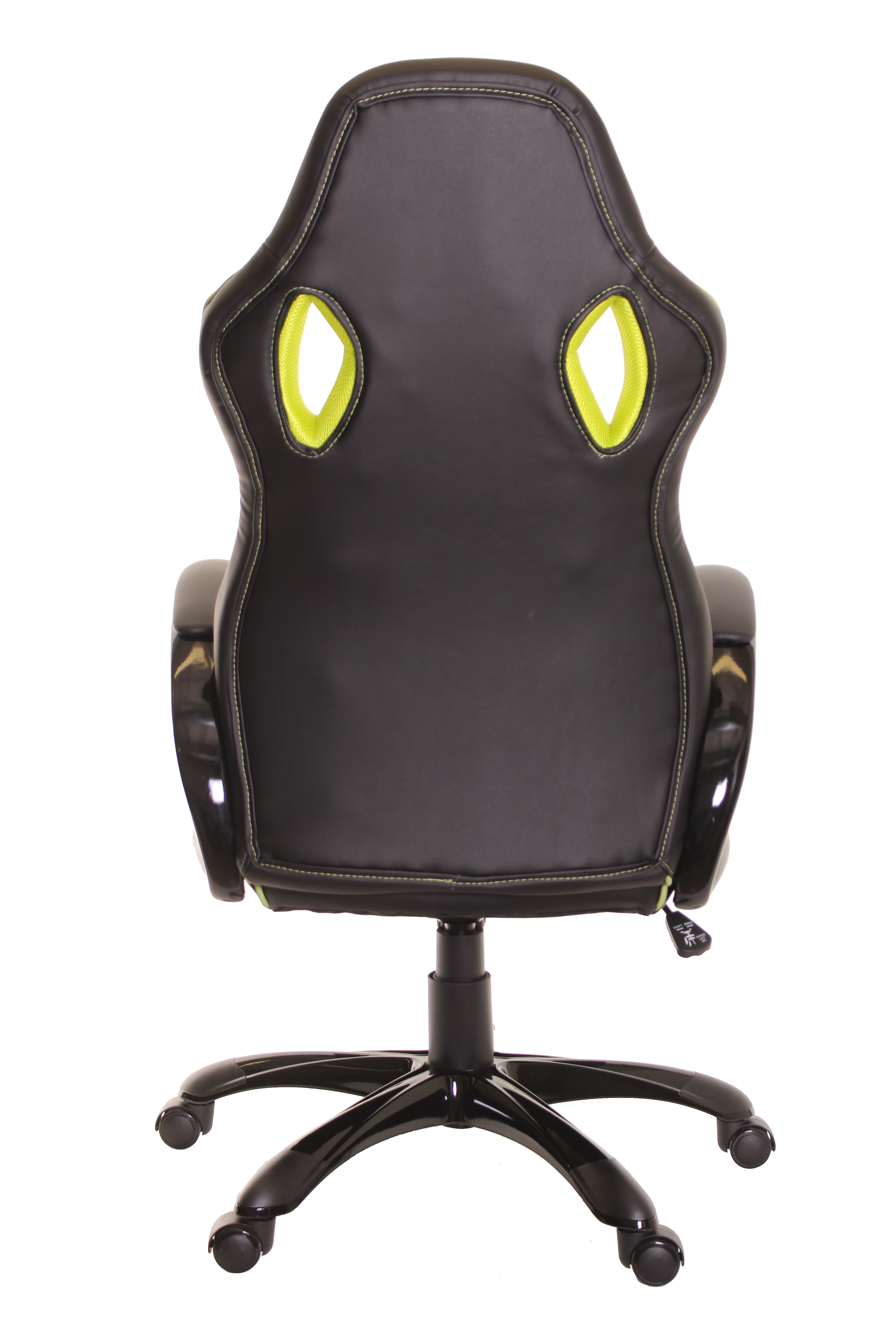 comfortable office chairs for gaming serta timeoffice race car style chair ergonomic leather black walmart com