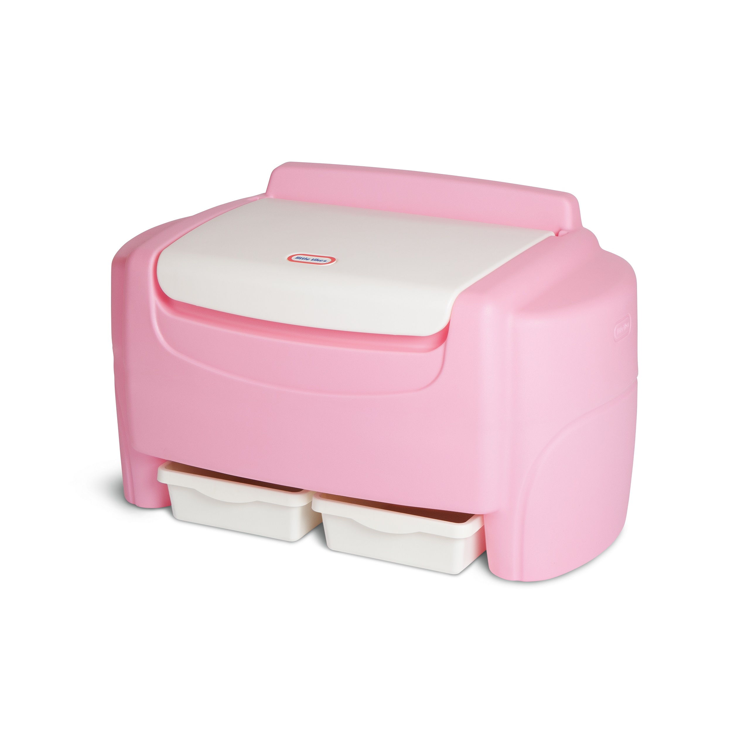 Little Tikes Sort N Store Toy Storage Chest Pink And