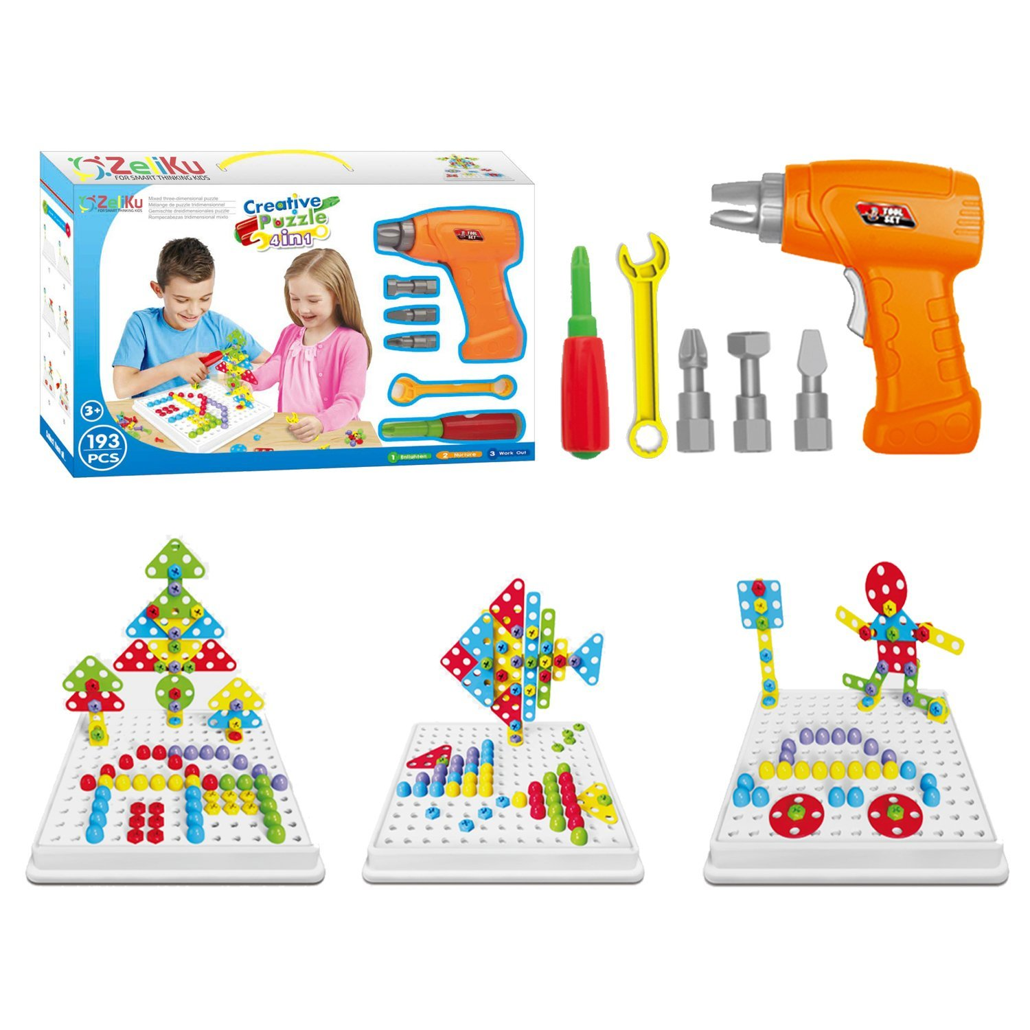 Educational Design And Drill Toy Building Toys Set 193