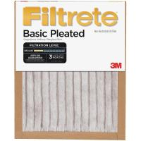 3M Filtrete Basic Pleated Furnace Filter - Walmart.com