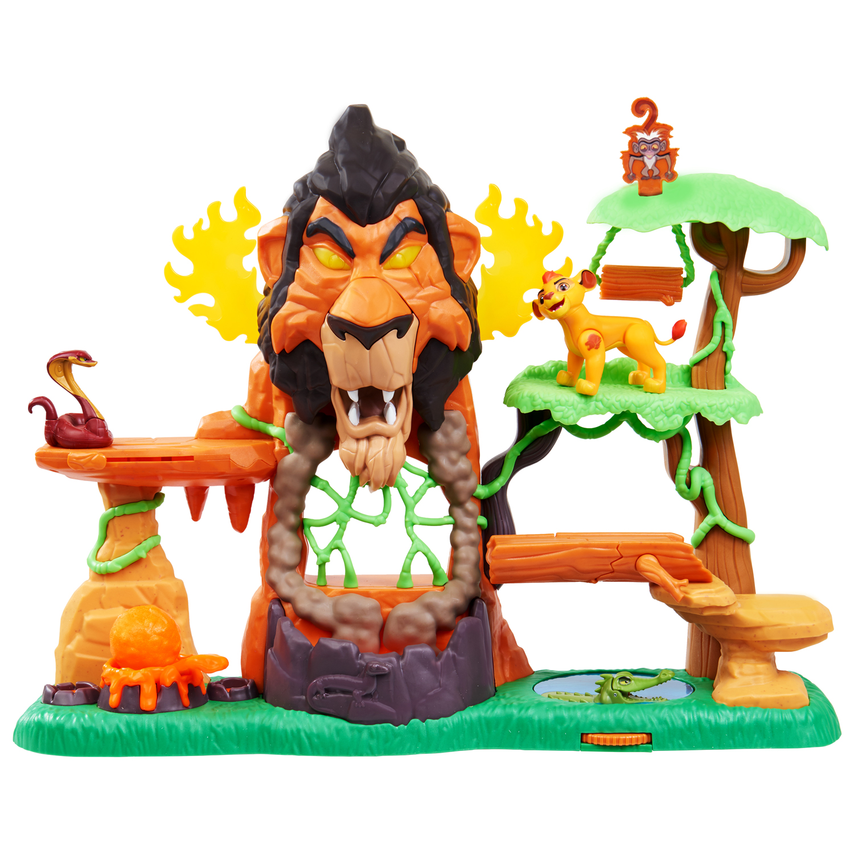 Lion Guard Rise Of Scar Playset Walmart