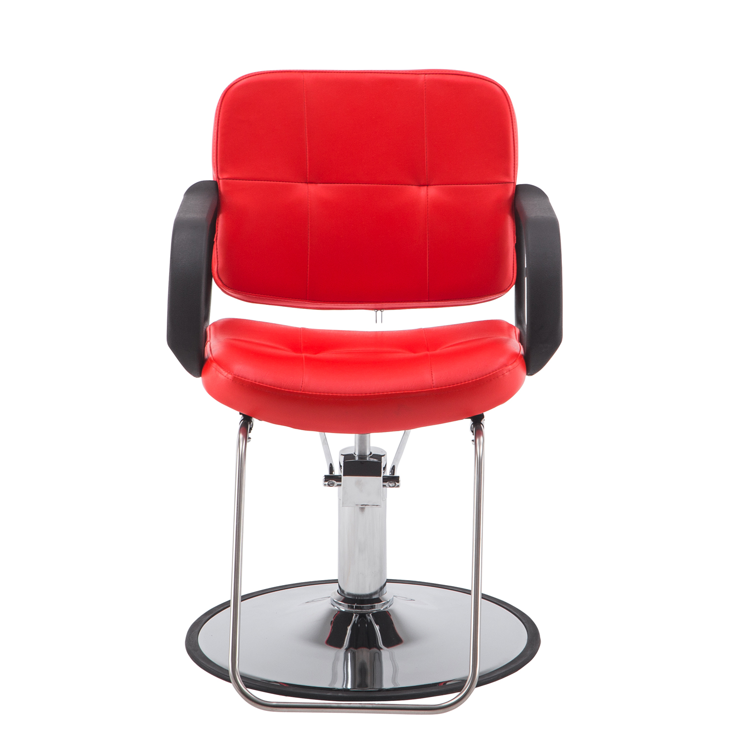 Red Barber Chair Barberpub Classic Hydraulic Barber Chair Salon Beauty Spa Styling Red 8837