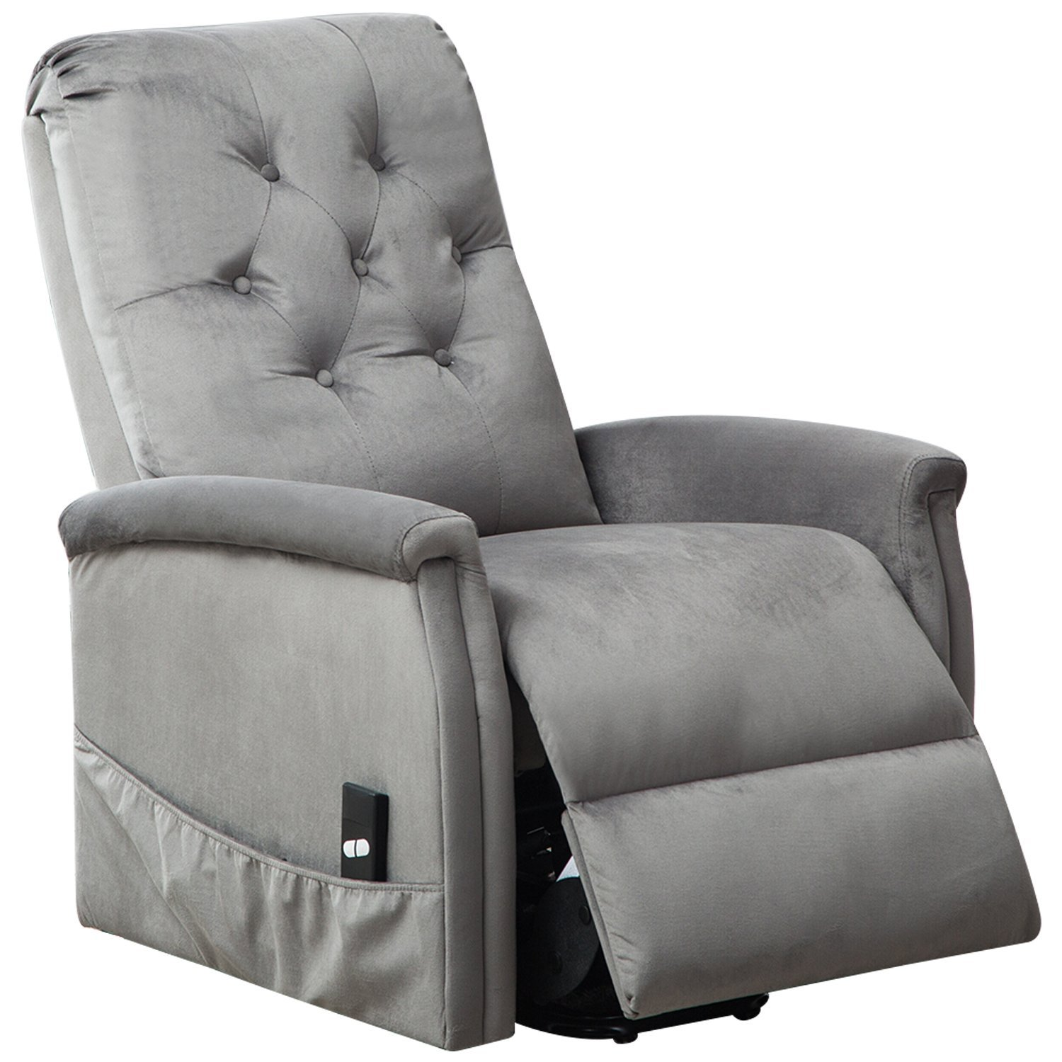 BONZY Power Lift Chair Tufted Recliners Living Room
