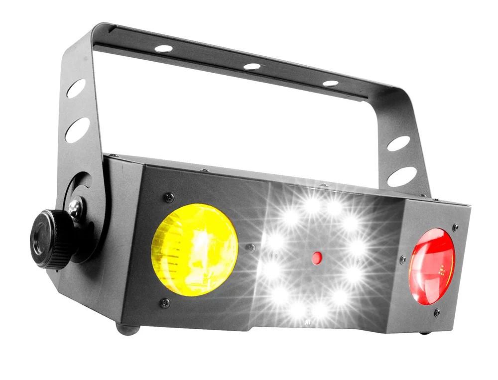 Used Chauvet DJ Lighting Swarm 4 FX Dual Moonflower Red
