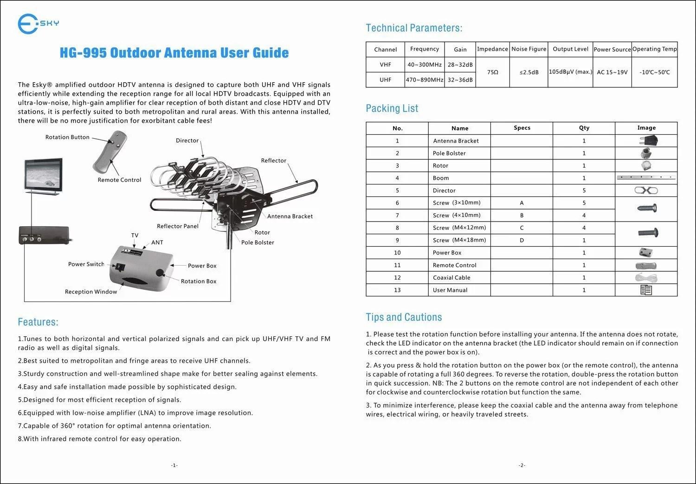outdoor tv antenna wiring diagram oil refining process remote control diagrams