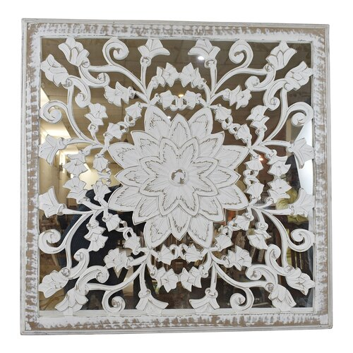 Bungalow Rose Mdf With Mirror Panel Wall Decor Walmart