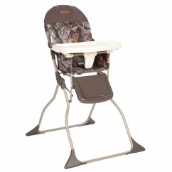 How To Fold Up A Cosco High Chair Covers Black Spandex Baby Toddler Simple Folding Portable Realtree / Orange Camo New | Ebay