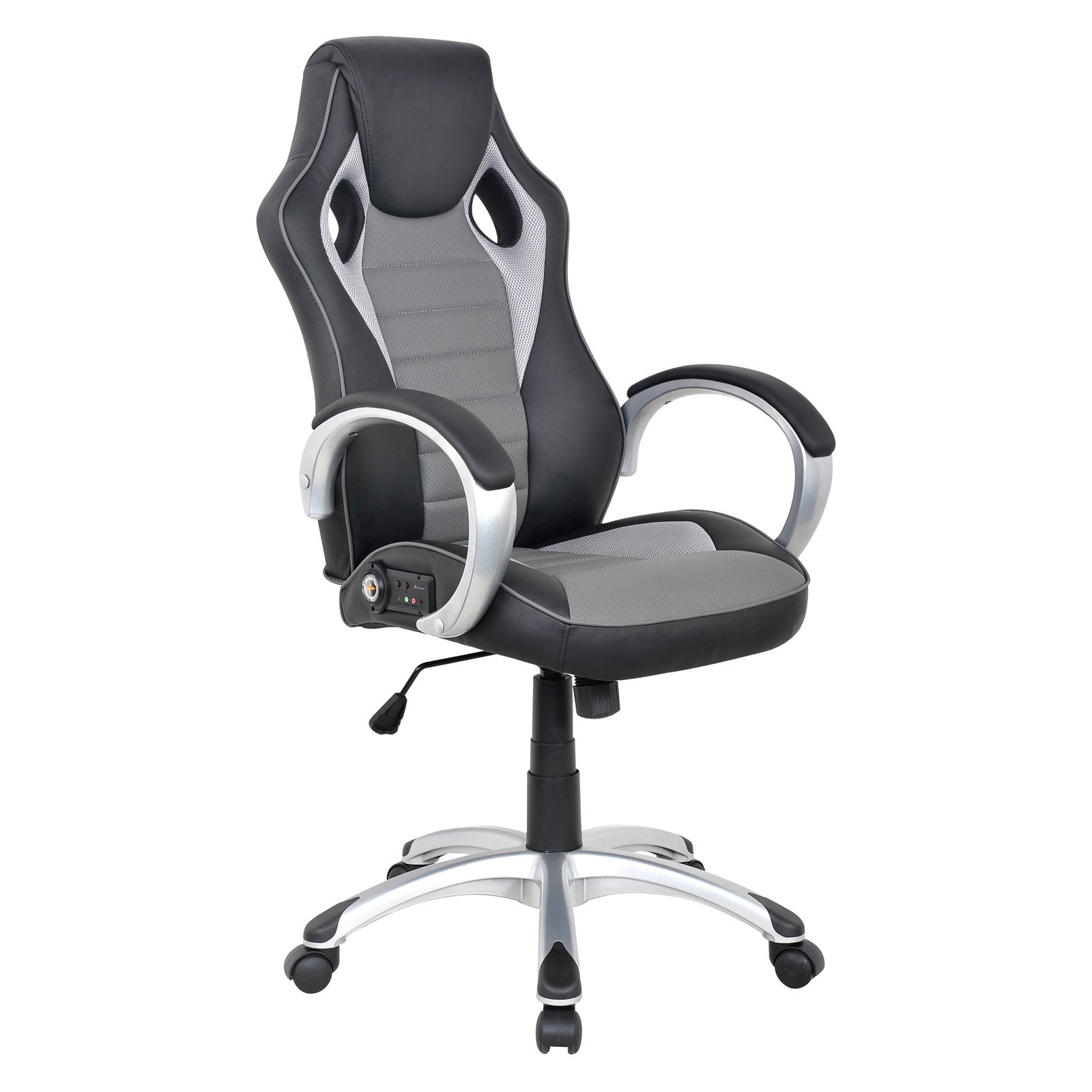 Game Chairs With Speakers Gaming Chair With Speakers Arms Ergonomic Rolling Office