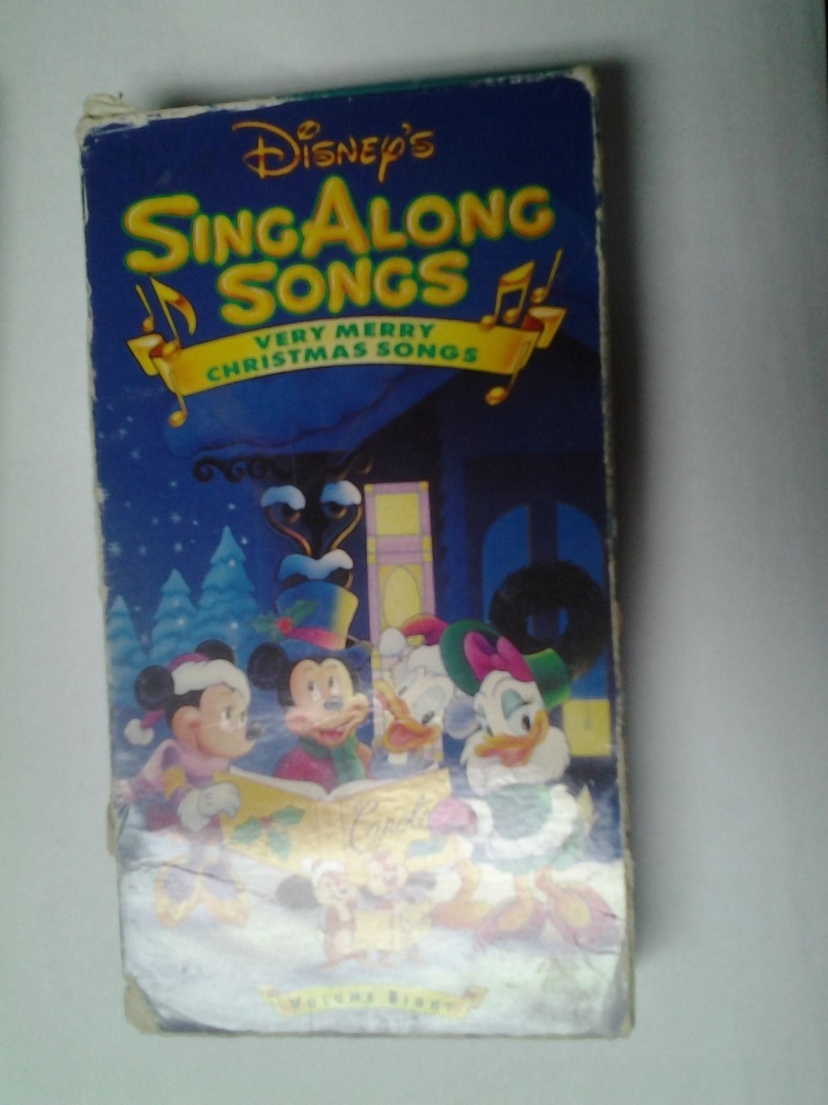 Disney Sing Along Songs Very Merry Christmas Songs 1988 Vhs.Singing Babies Toddler Tunes Vhs