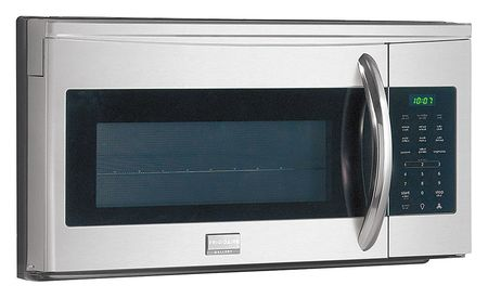 frigidaire fgmv175qf microwave over the range 1000w ss