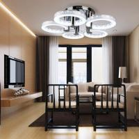 Modern Style LED Acrylic Chandeliers Ceiling Light Lamp ...