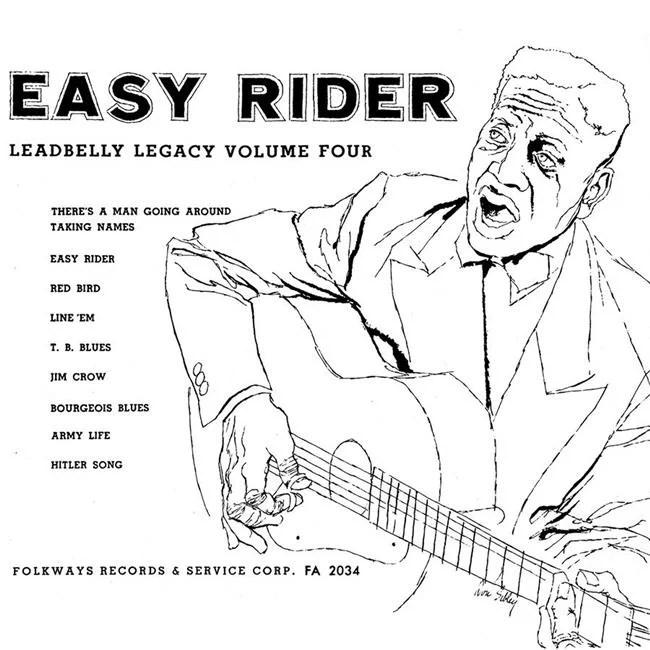 Folkways Records FW-02034-CCD CCD Leadbelly Legacy Volume